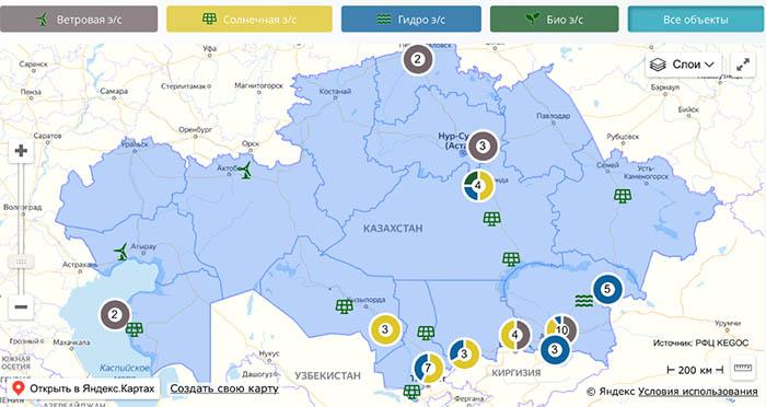 южная зона энергосистемы страны