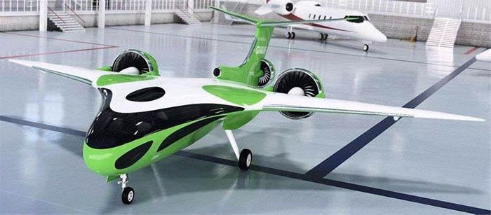 Гибридный британец Starling от Samad Aerospace